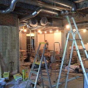Byggservice för industri